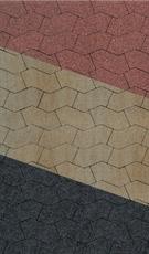 Тротуарная плитка В.3.Ф.10 S-форма Стандарт