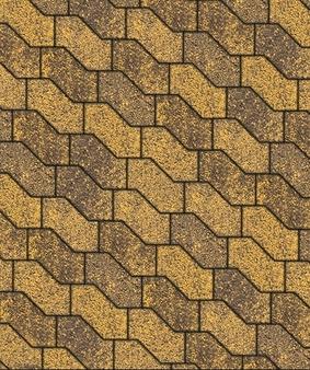 Тротуарная плитка В.3.Ф.10 S-форма Листопад Гладкий