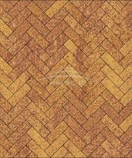 Тротуарная плитка Б.6.П.8 Паркет Листопад Гладкий