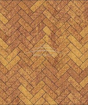 Тротуарная плитка Б.6.П.8 Паркет Листопад Гранит