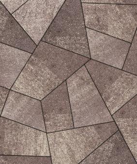Тротуарная плитка Б.4.Фсм.8 Оригами Искусственный камень