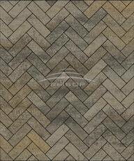 Тротуарная плитка Б.6.П.8 Паркет Искусственный камень