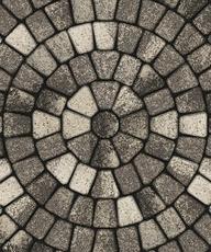 Тротуарная плитка ЛАЛИНИЯ Б.5.П.6 Листопад гладкий