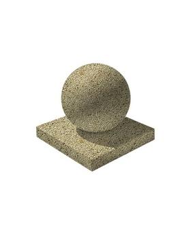 Декоративный элемент  Шар-1 Мытый бетон