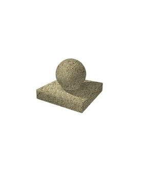 Декоративный элемент Шар-2 Мытый бетон