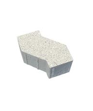 Тротуарная плитка В.3.Ф.10 S-форма Гранит