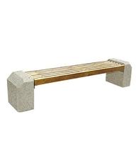 Скамья СК-3 Мытый бетон