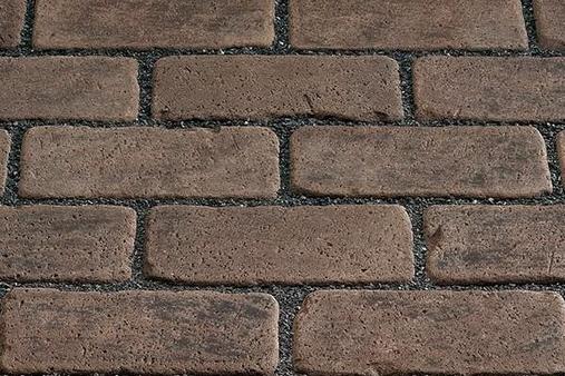 Тротуарный клинкер Kerawil, Dunkelbraun-Blau-Bunt Keratique, 45