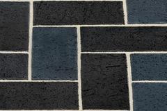 Тротуарный клинкер Kerawil, Schwarz-Stahlblau, 45