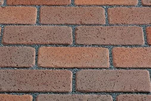 Тротуарный клинкер Kerawil, Rot-Blau-Bunt Keratique, 45