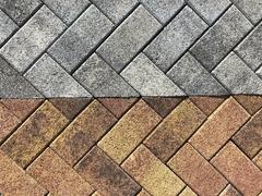 Тротуарная плитка ЛАЛИНИЯ 2П.6 ЛИСТОПАД гранит