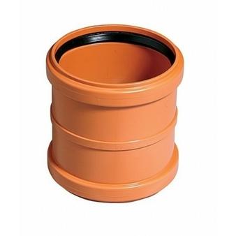 Муфта двойная KGMM для наружной канализации