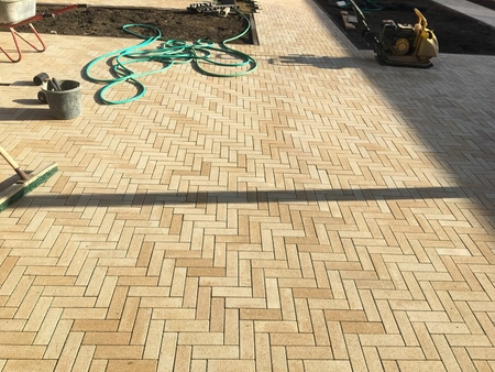 Тротуарная плитка Б.4.П.6 Паркет Искусственный камень