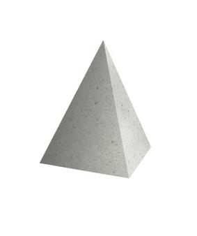 Декоративный элемент Пирамида Мозаичный бетон