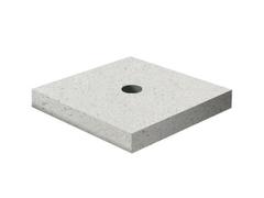 Декоративный элемент Подставка-2 Мытый бетон