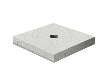 Декоративный элемент Подставка-1 Мытый бетон