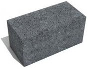 Блок для простенков СКЦ (тп) - 9л 150 кол Искусственный камень