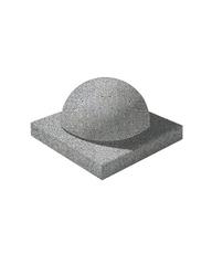 Декоративный элемент Полушар Мозаичный бетон