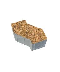 Тротуарная плитка В.3.Ф.10 S-форма Листопад