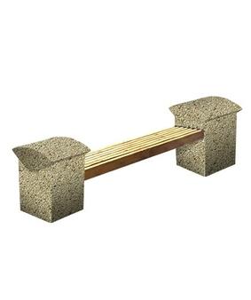 Скамья СК-8 Мытый бетон