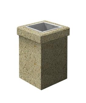 Урна-1 Мытый бетон