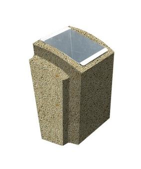 Урна-2 Мытый бетон