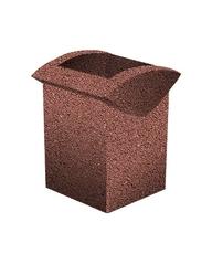 Урна-3 Мытый бетон
