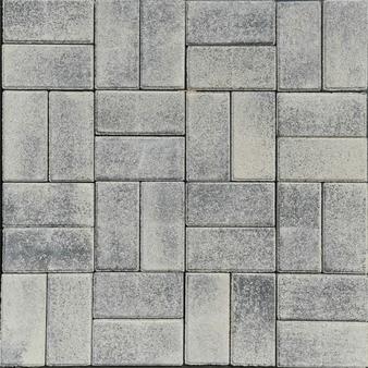 Тротуарная плитка Зебра, высота 40 мм