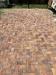 Тротуарная плитка Листопад, высота 40 мм